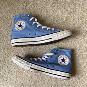 Converse-Light Blue High Tops! Great Condition
